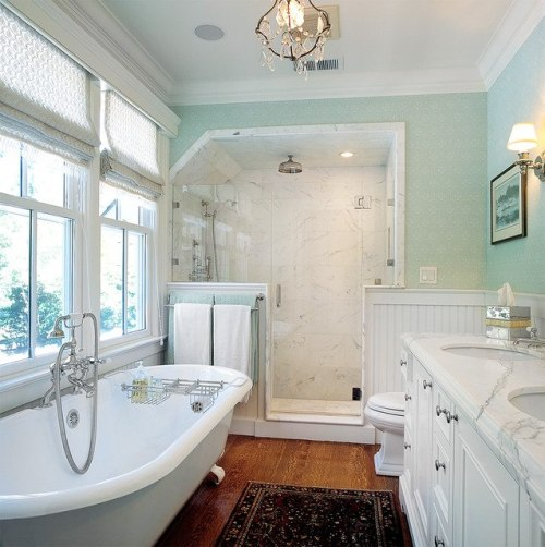 For #skyburned. Now here's a bathroom design I can see you doing…