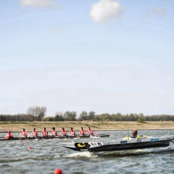 Damen Raceroei Regatta Exhibition Match, Club8+ vs. Solar Boat