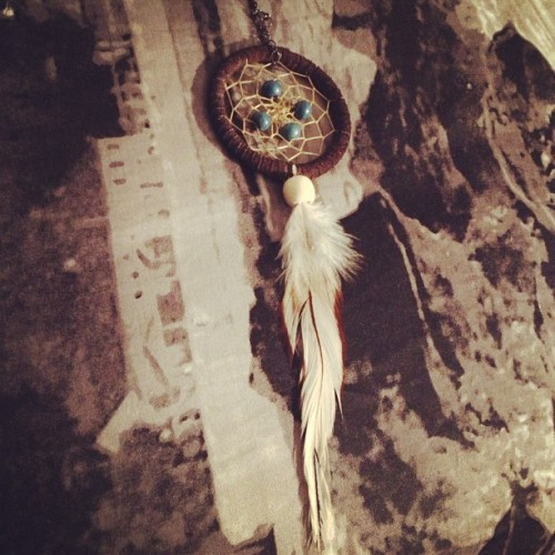 Well, I've added on a new size. 👂#dreamcatcher #earring #whatitdo #happens #bougieghetto