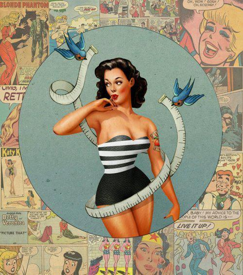 dinfinite:  Pin up girl