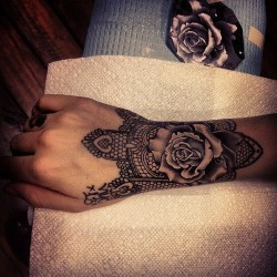 tattoos inked tattoo inked girl flower ink tattooed rose tattooed girl rose tattoo