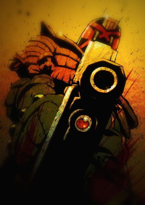 Gunbarrel Dredd by mygrimmbrother