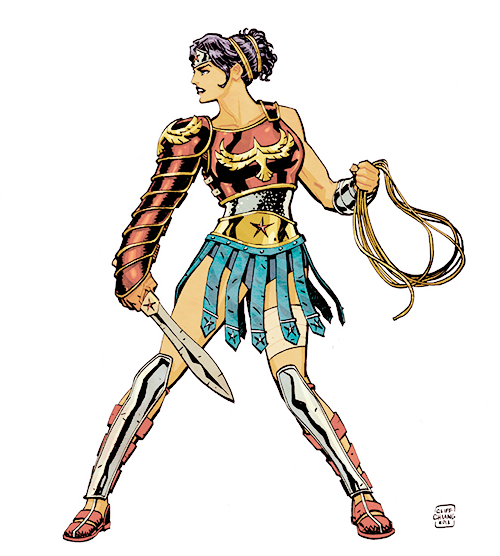 kateordie:   Wonder Woman by Cliff Chiang.  The best there is.