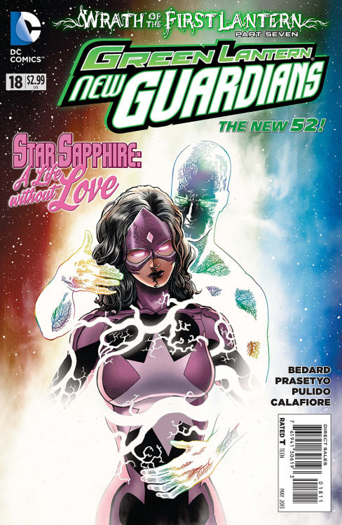 Green Lantern: New Guardians #18 preview