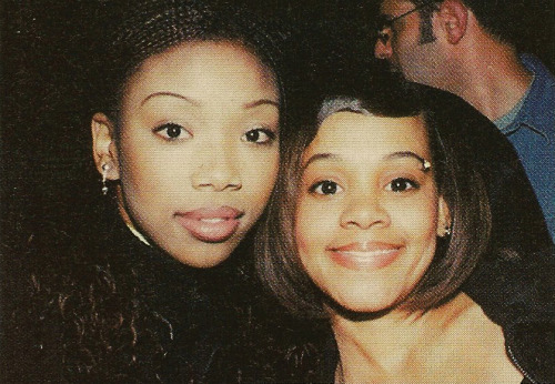 donttrustrobotz:  Brandy & Left Eye