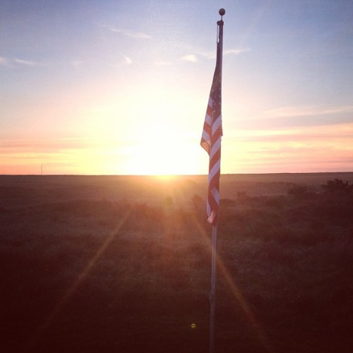 Remember those who give you what you take for granted. #oregon #coast #flag #usa #beauty #freedom #thankyou