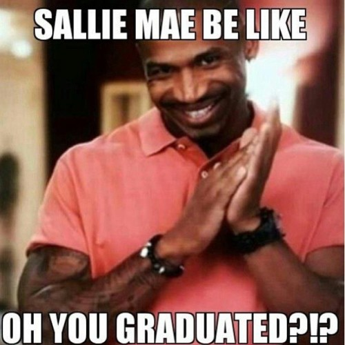 bitchiethoughts:  tina-rose:  dennistothe:  Truuuuuuuuth #salliemae #studentloans  STAHP IT! I'M NOT READY, NOOOO!!!  that bitch took my whole income tax