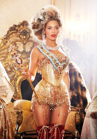 n0vi:  Your majesty, Queen Beyonce.