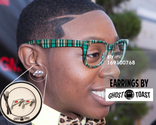 De'borah Rocken them 3D glasses studs on the red carpet. Get em here https://www.etsy.com/listing/86849213/3d-glasses-stud-earrings?ref=shop_home_feat