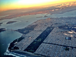 San Francisco from air.