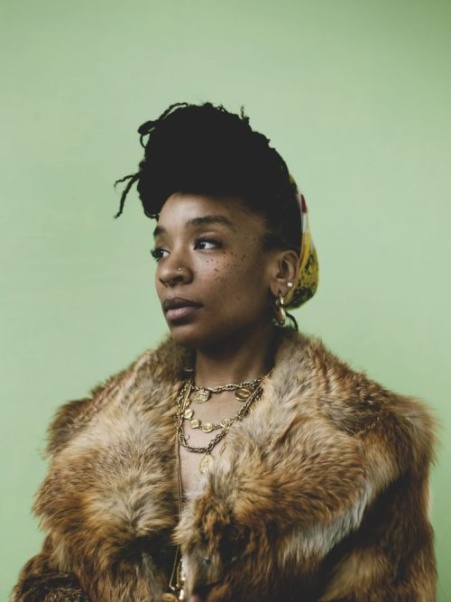 "darthcausper:  Interview Magazine | The Multihyphenate Rapper: Njena Reddd Foxxx  Marcus Holmund: Tell me about your process. Do you write? Do you freestyle? Is it one-take?Foxxx: I do really well when a challenge is put in front of me. I don't just wake up and write. I like being forced to make decisions on the spot. I think that's why I've done so many things as a freelancer. I like being put in a studio and having that ""ready, set, go"" aspect to it. I do write, but, I'm way too indecisive when the options are limitless, so, the more stripped down things are, the swifter the process is for me. Like for ""Flex,"" I got in the studio, felt the beat, wrote the shit and then spit it. For ""Silly Bitch,"" I had written some verses to a Soulja Boy song called ""Get Silly"" as a kind of remix thing and then ended up recording it later atop a different beat that fit and it became an entirely different song. So, I guess, my process is wherever things take me at the moment. Which is a lot like my college experience and working as a freelancer afterward…it's very trial-by-fire.  [Photography c/o Van Sarki]"