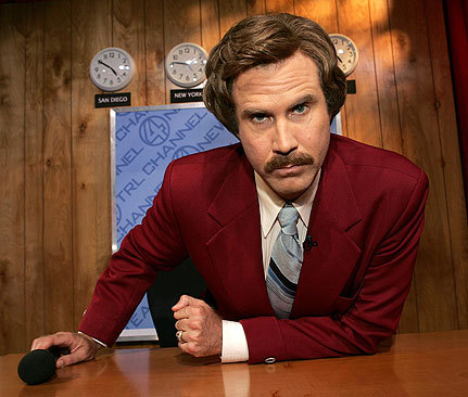 Unforgettable: Ron Burgundy