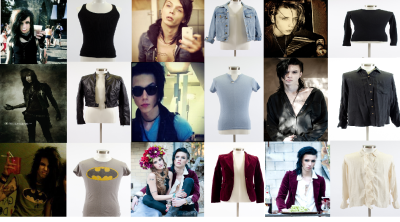 A lot of people said that they hadn't seen Andy wear any of the items that he is selling on eBay for charity, so I thought I'd provide you guys with some proof that these items are legit worn by Andy. In fact, some of them I know for certain are prized possessions of his. Particularly the Billy Idol T-Shirt. Although I cannot find the evidence that he wore this item, I remember distinctly that he wore it a lot at age 17-18 A LOT. It was one of his favourite shirts. The denim jacket top middle, is also something Andy wore a lot. So if you're wanting items that Andy liked a lot, I'd go for those ones. For the ones who said that Andy doesn't wear these items, most of them he wore as a teenager, particularly the shirts, and Alkaline Trio/Billy Idol shirts, which makes them more valuable I think, although all of the old photos were on my old laptop and I can't find them but I know for a fact he wore them, so you're safe with bidding on them knowing for a fact that they came from Andy himself.  Here's the link to the eBay auction -  http://www.ebay.co.uk/sch/closets4causes/m.html?_nkw=&_armrs=1&_from=&_ipg=200&_trksid=p3984.m1426.l2654 Happy Bidding!
