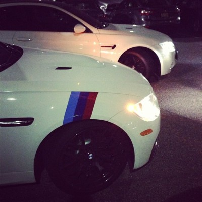 Made a new friend last night. #bmw #m3 @bmw @bmwusa