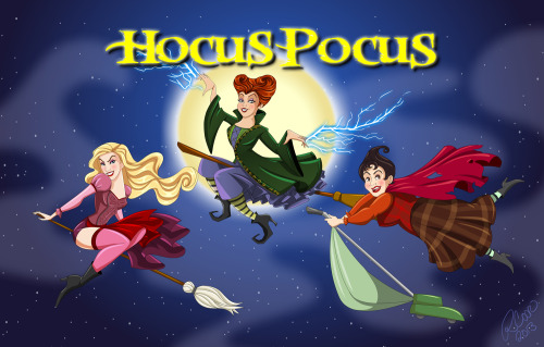 Hocus Pocus! It's not just Halloween anymore. Winifred, Sarah and Mary, the original Charmed ones.  Enjoy