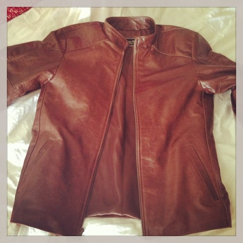 Leather jacket to measure in one day? Sure why not. #BuenosAires