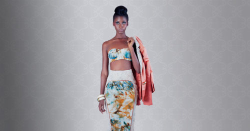 LOVE LOVE LOVE!! The cut out!!!  View more images from Christie Brown's SS13 Collection on Afriversal: http://www.afriversal.com/2013/01/christie-browns-resort-ss13-collection/