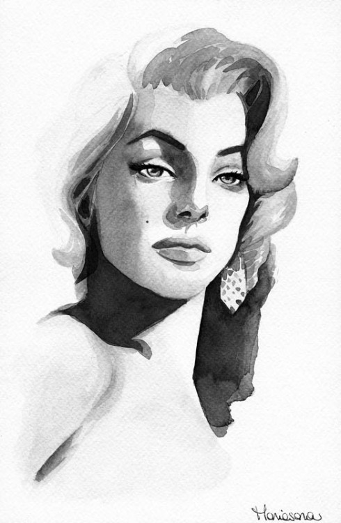 lovely monotone painting