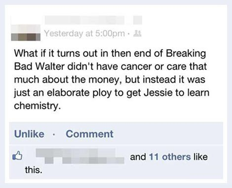 Breaking Bad's ending…