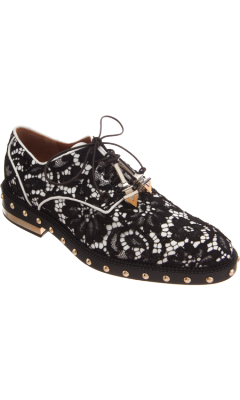 billidollarbaby:  Givenchy Studded Lace Oxford ($1,595)
