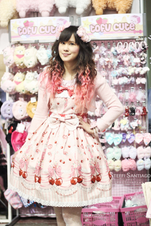 """Strawberry curls and cherry twirls"" Rosanna Hyper Japan 2012 Winter/ Xmas"