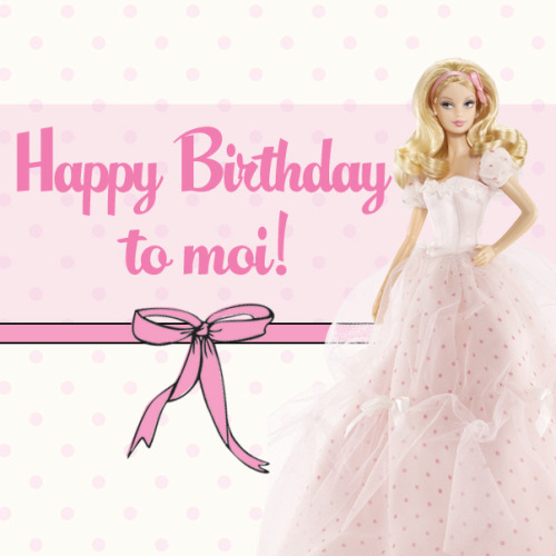 Heart my a-mazing (pink!) birthday gown!