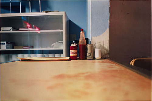Untitled. 1980 fr - Lousianna Project - Hot Sauce by William Eggleston