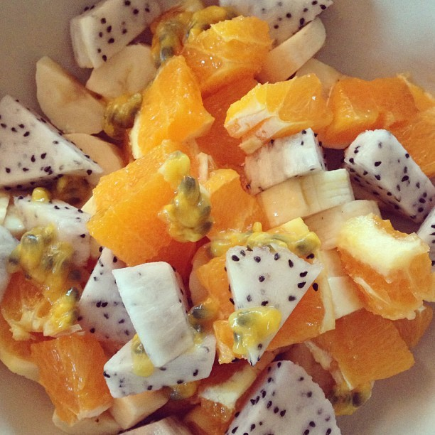 fruitsalad on We Heart It - http://weheartit.com/entry/59135763/via/foodie6969   Hearted from: http://instagram.com/p/YVfPnHCIy9/