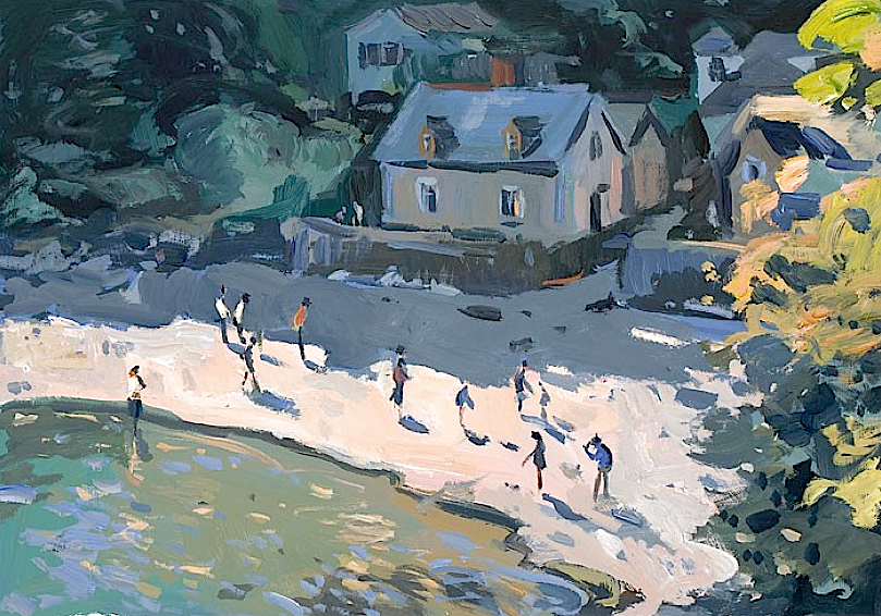 snowce:  Andrew Tozer,Late Afternoon Sunshine, Durgan