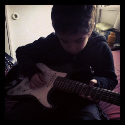 Mi rocker en potencia #Guitar #Rock