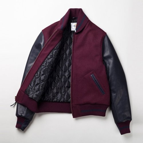 theclassyissue:  Varsity Jacket by Golden Bear x The Woodlands