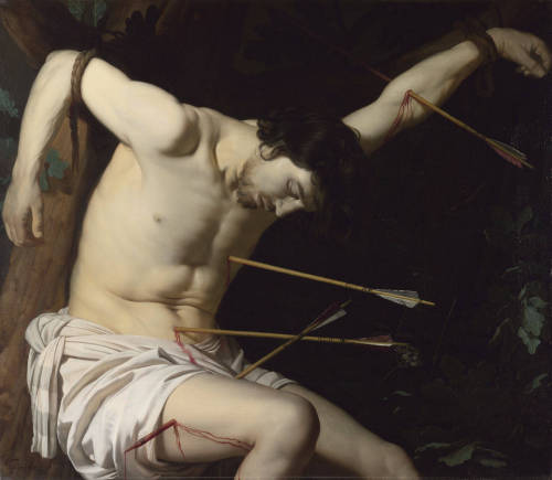 Saint Sebastian, ca. 1623  Gerrit van Honthorst (Dutch, active in Italy, 1590-1656)