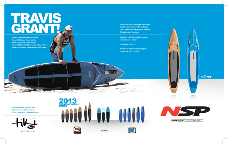 New NSP SUP ad for SUP magazine.
