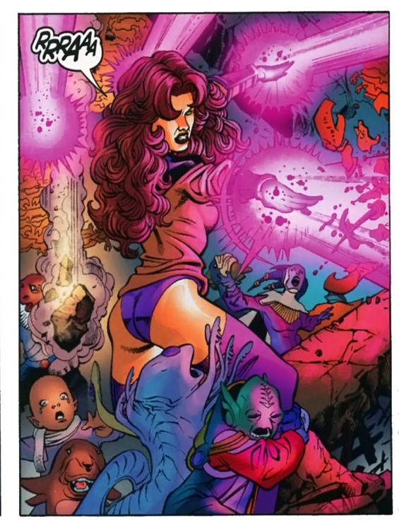 "sentinelalanscott:  ""Read 52 it has Kory being awesome"" pt 1"
