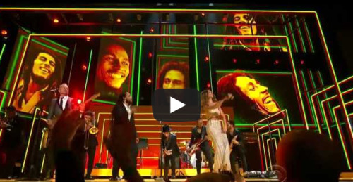 Let's Watch Celebrities Awkwardly Dance During The Bob Marley Tribute At The Grammys