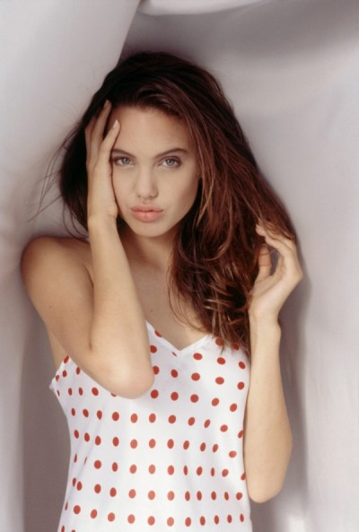 linxspiration:  Young Angelina Jolie.