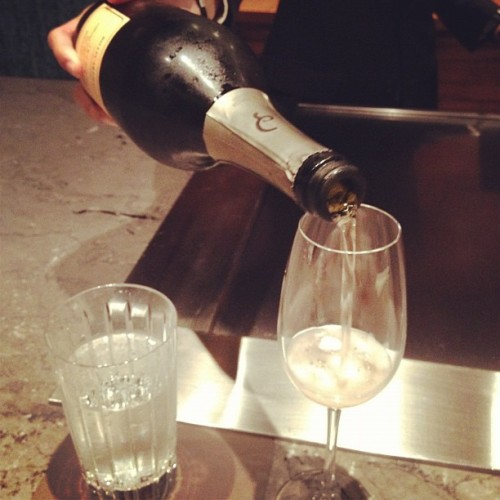 Billecart salmon #champagne brut rosé !!!! #tweegram #photooftheday #instamood #iphonesia #summer #tbt #igers #picoftheday #instadaily #instagramhub #beautiful #girl #iphoneonly #instagood #bestoftheday #jj #sky #picstitch #follow #webstagram #nofilter  (at Waku Ghin)