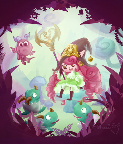 inkinesss:  Dragon Trainer Lulu