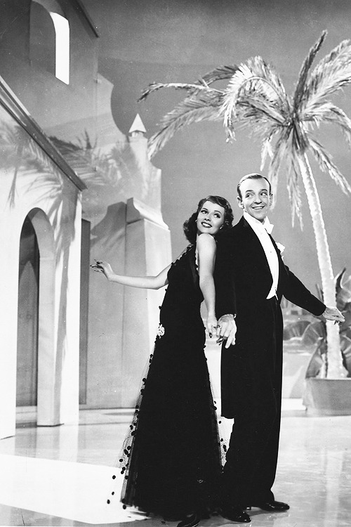 Rita Hayworth and Fred Astaire in You'll Never Get Rich (1941)