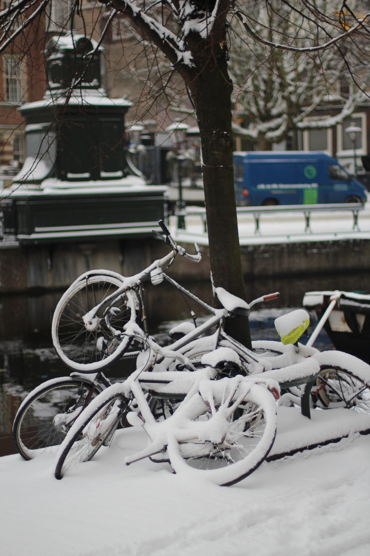 Winter has finally come to Leiden