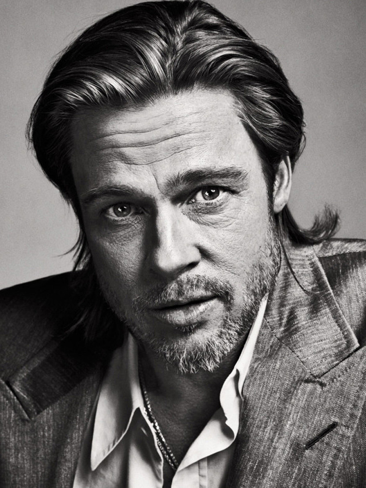 "Brad Pitt photographed by Sebastian Kim from ""Great Performances,"" February 20, 2012 issue. See more of our best portraits from 2012 here."