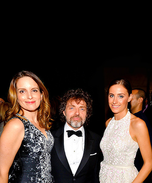 Tina Fey, Jeff Richmond & Alexi Ashe Meyers at the American Museum of Natural History's 2013 Museum Gala