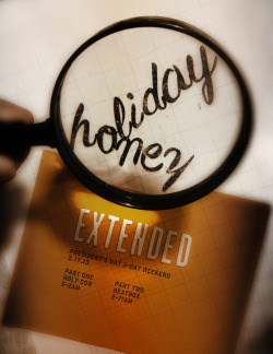 Our first official *extended* Honey Sunday holiday party where we take everyone around the corner to Beatbox and keep it going til the whee hours… Poster by J. Sperber