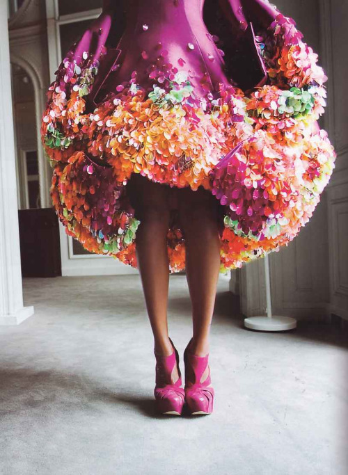 seaborder:  'Couture Culture', L'Officiel India, March 2008  John Galliano for Christian Dior Spring Summer 2008 Haute Couture
