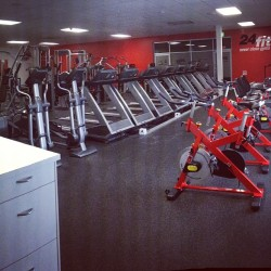 At the #gym with all my #friends
