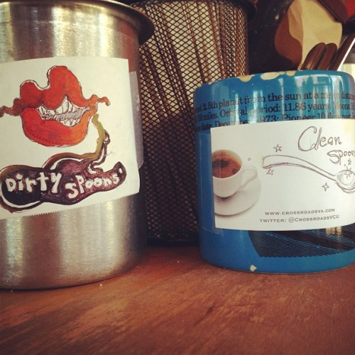 #dirty #or #clean (at Crossroads Coffee & Ice Cream)