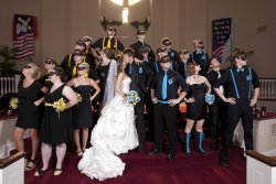 djkaeru:  Batgirl Nightwing Wedding -  超可愛www