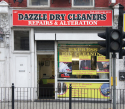 Dazzle Dry Cleaners, Green Lanes, N8