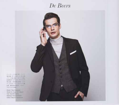 (via Excellent Male Model Duco Ferwerda 様) #glasses