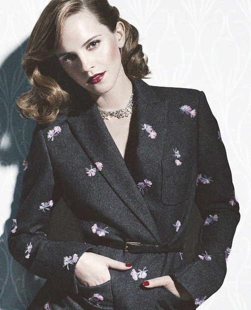 New photo of Emma Watson's shoot for W Magazine